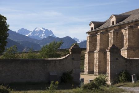 Vue de l'arsenal de Mont-Dauphin