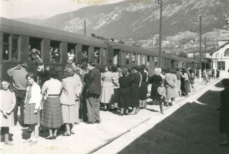 Photo d'archive : train Briançon