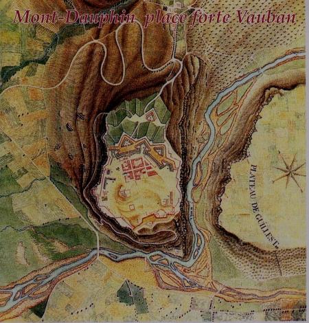Plan historique de la place forte Vauban de Mont-Dauphin