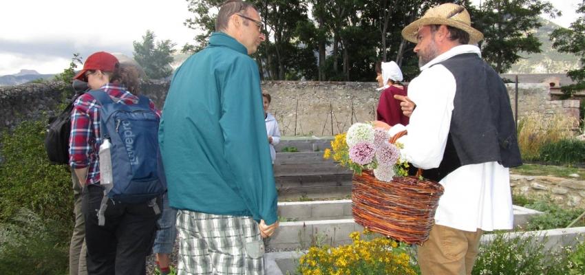 Jardin historique : le jardinier conteur