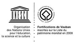 Logo Patrimoine Mondial et UNESCO