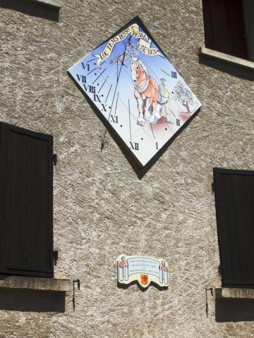 Cadran solaire à 05 Saint-Crépin, 2005