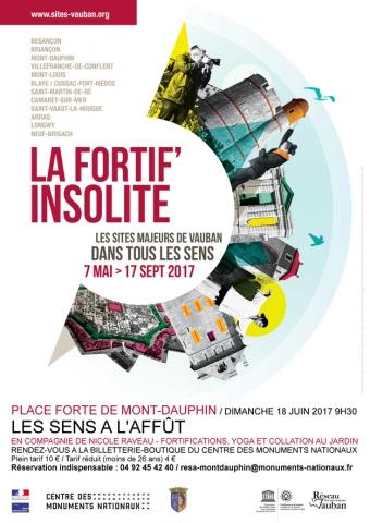 FORTIF'INSOLITE : Du yoga à Mont-Dauphin