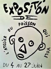 EXPO DE L4ATELIER LE POISSON  QIUI VOLE