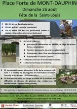 Saint-Louis 2018 à Mont-Dauphin