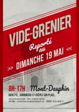 Vide-greniers de Mont-Dauphin reporté au 19 mai