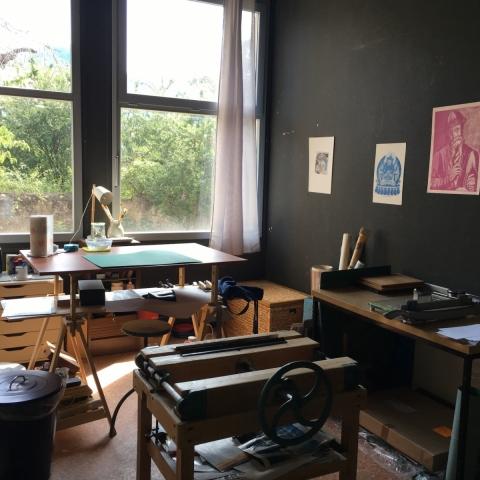 Atelier de reliure Mont-Dauphin