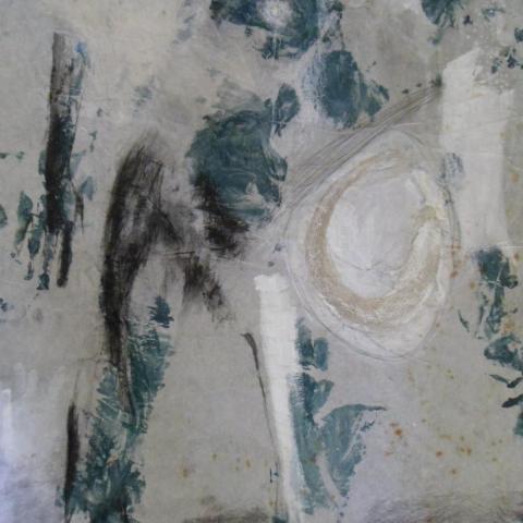 Un Sueno,  peiunture, par Barbara Fougnon, Atelier du Poisson qui Vole