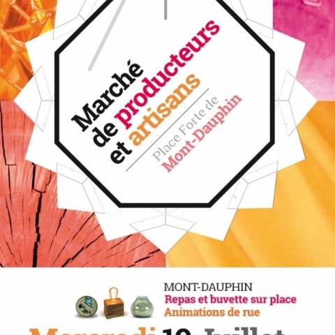 Marché des artisans de Mont-Dauphin