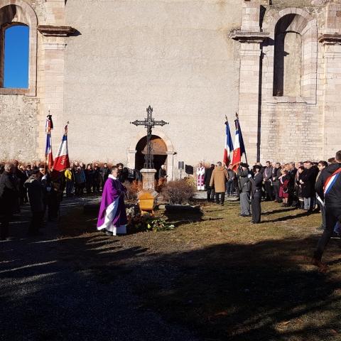 Obsèques de Monsieur Gilbert Fiorletta