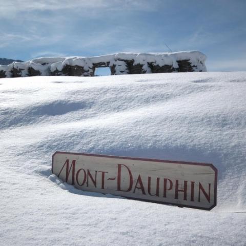 Hiver à Mont-Dauphin