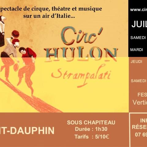 Le Circ'Hulon de retour à Mont-Dauphin