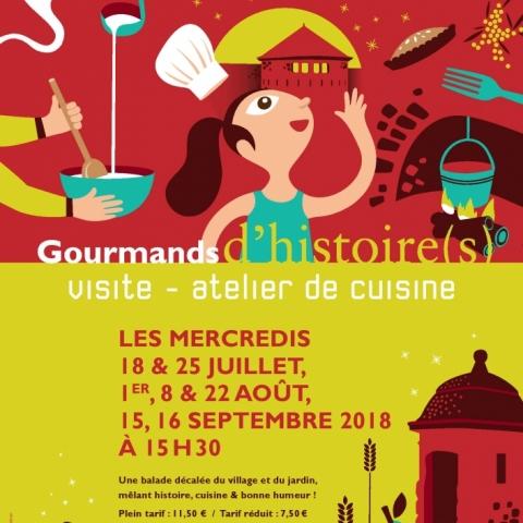 Gourmands d'histoire Mont-Dauphin