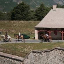 Parade des cavaliers de la place forte vauban