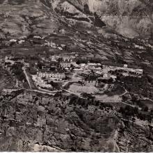 Mont-Dauphin, place forte Vauban en 1945, vue du ciel